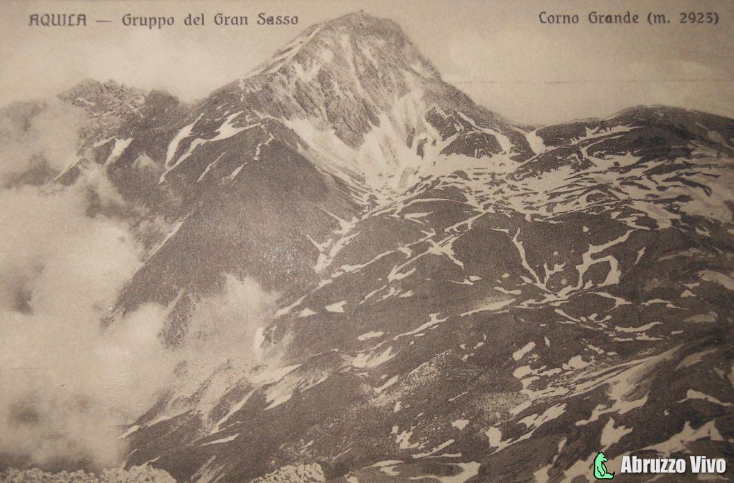 gran-sasso-1914 Il Gran Sasso d'Italia