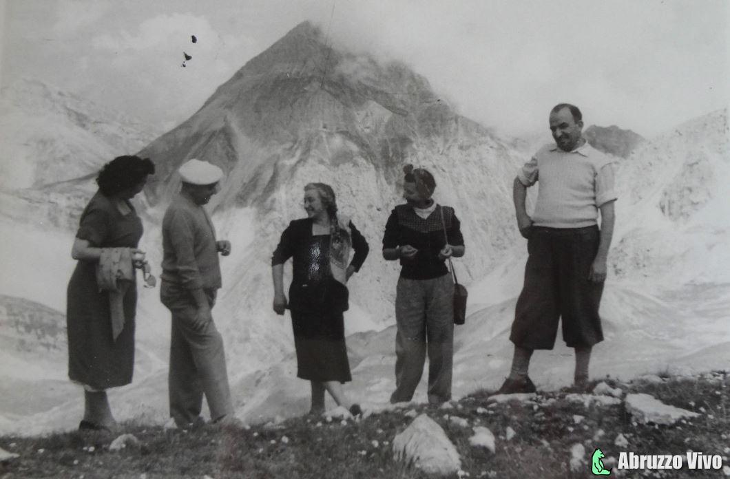 gran-sasso-1949 Il Gran Sasso d'Italia