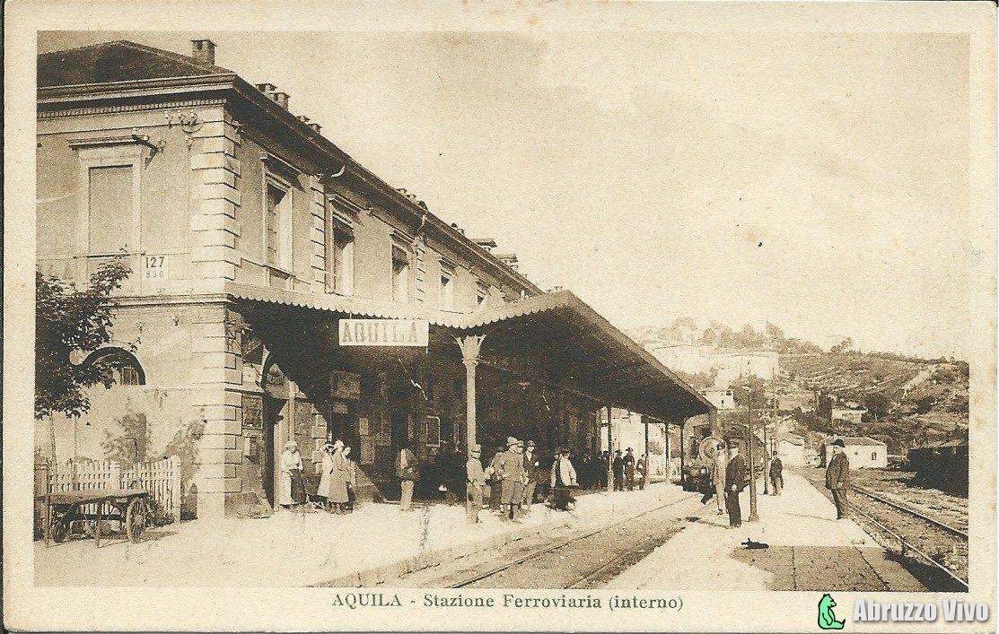 aquila-011 Dai primi del 1900 alla fine degli anni 80 attraverso le cartoline illustrate