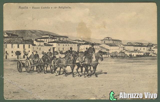 aquila1 Dai primi del 1900 alla fine degli anni 80 attraverso le cartoline illustrate