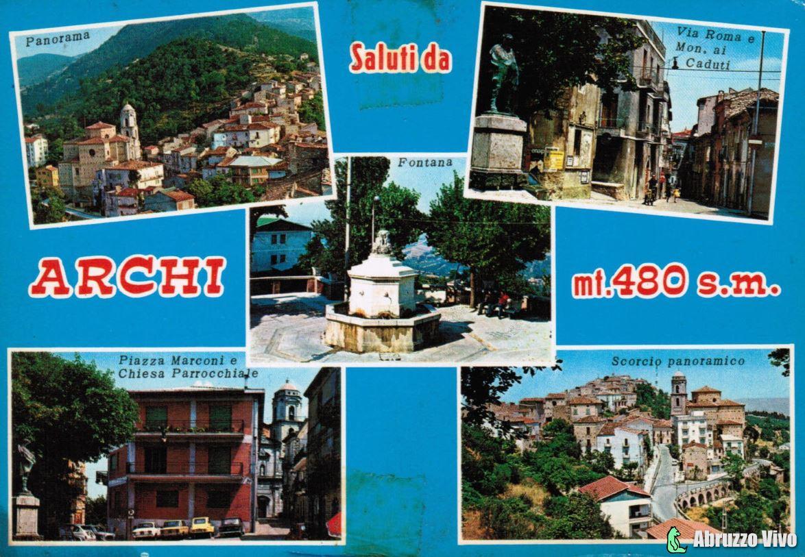 archi1 Dai primi del 1900 alla fine degli anni 80 attraverso le cartoline illustrate