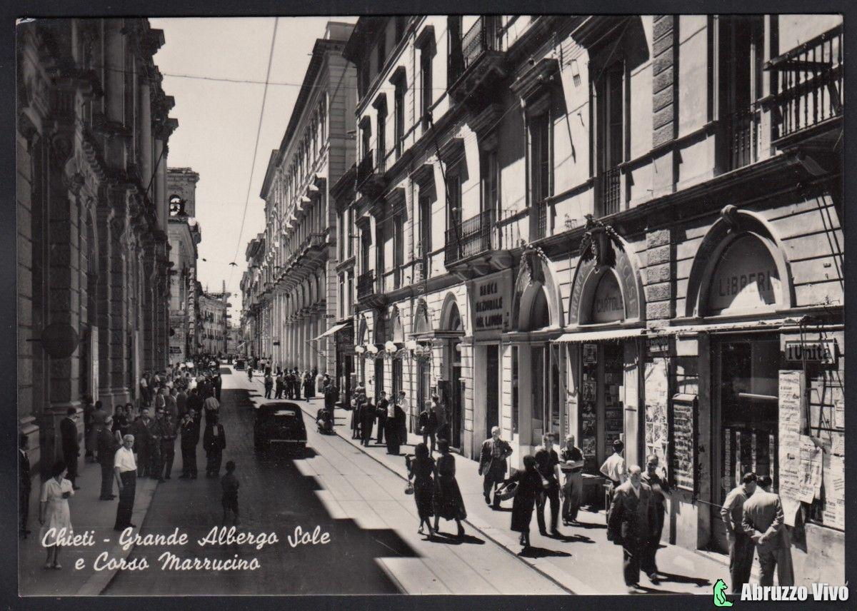 chieti-021 Dai primi del 1900 alla fine degli anni 80 attraverso le cartoline illustrate