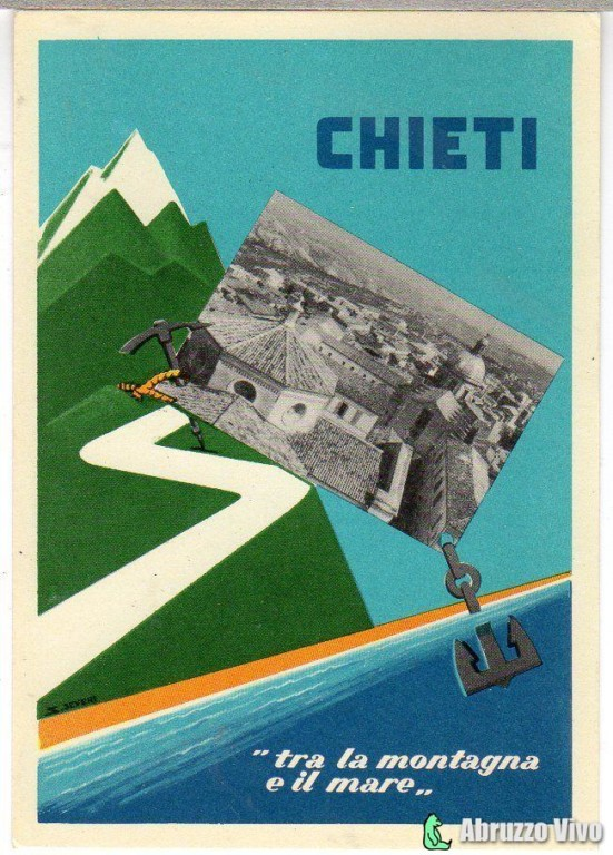 chieti-041 Dai primi del 1900 alla fine degli anni 80 attraverso le cartoline illustrate