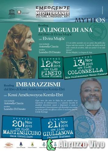 Emergenze mediterranee con Elvira Mujčić a Pineto e Colonnella - Eventi