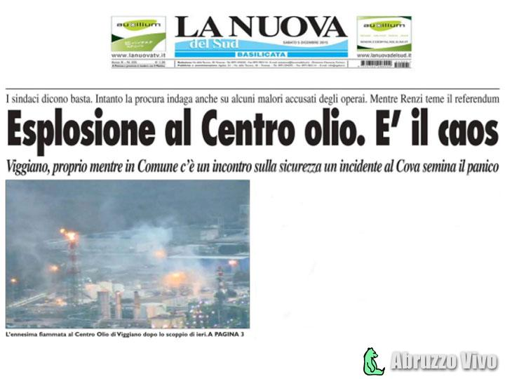Sicurezza petrolifera, solo bla bla bla - Cronaca