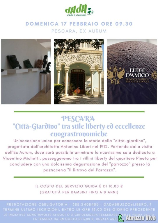 Pescara-Liberty-DADAbruzzo-2019 Pescara Liberty ed eccellenze enogastronomiche Ex Aurum