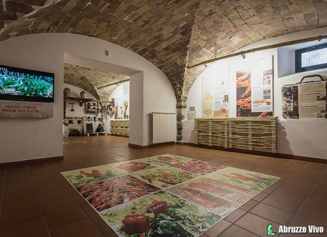 museo_peperonedolcealtino Altino nel cuore dell'Abruzzo