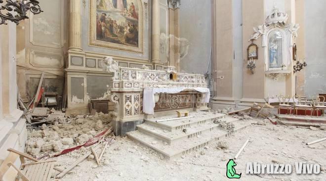 chiesa-san-demetrio-santa-maria-dei-raccomandati Sisma del 2009. Presentazione bando Arte Scultorea