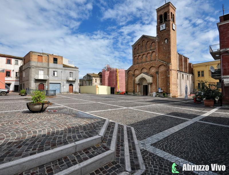 piazza-san-vitale-san-salvo Storia e architettura della chiesa di San Giuseppe in San Salvo